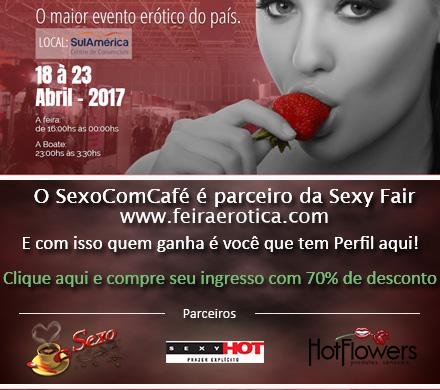 Sexy Fair a Feira Erótica: Quem segue o SexoComCafé ganha desconto!